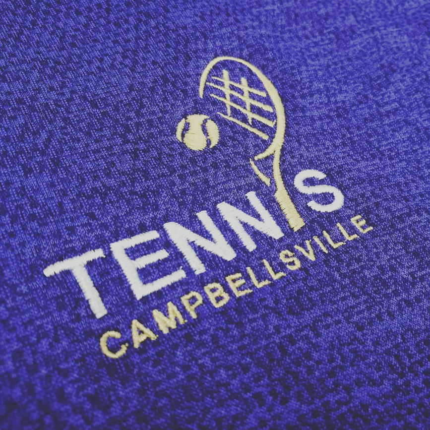 Cville Tennis Embroidery