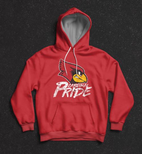 Cardinal Pride Hood