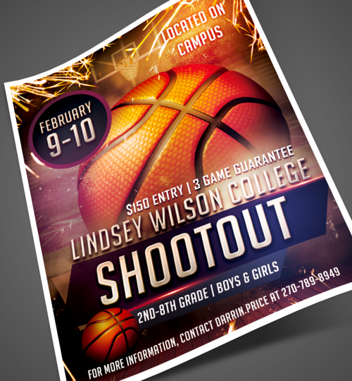 Shootout Flyer