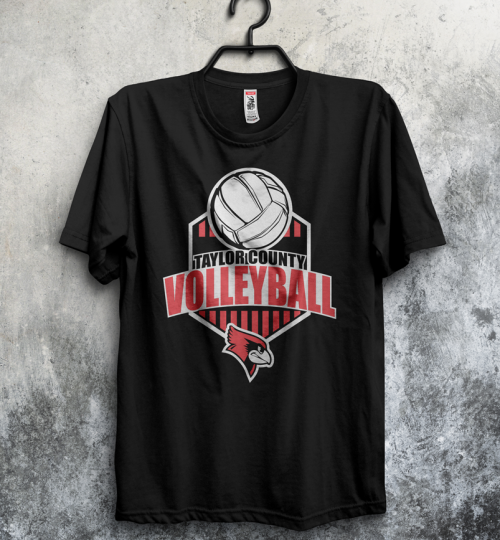TC Volleyball Tee