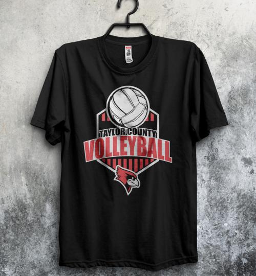 TC Volleyball Tee
